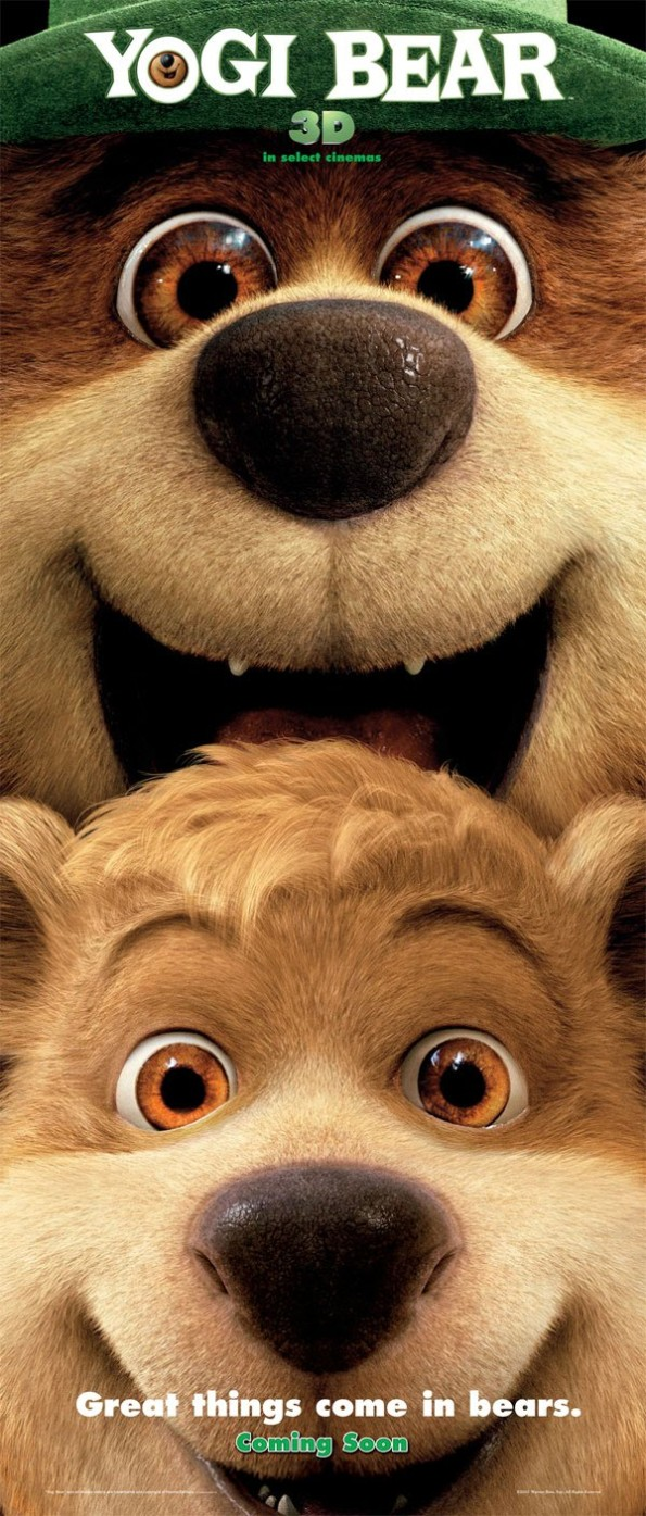 Great things come in bears Yogi Bear film poster